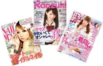 雑誌・広告の撮影